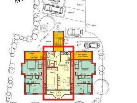 Stilvolle 2-Zimmer-EG-Wohnung mit Balkon und EBK in Erlenbach