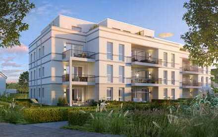 Eine Wohnung mit Garten~neu~modern~ruhig~stadtnah~barrierefrei