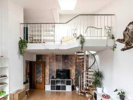 Aparte Maisonettewohnung mit Galerie und 25 m² Dachterrasse