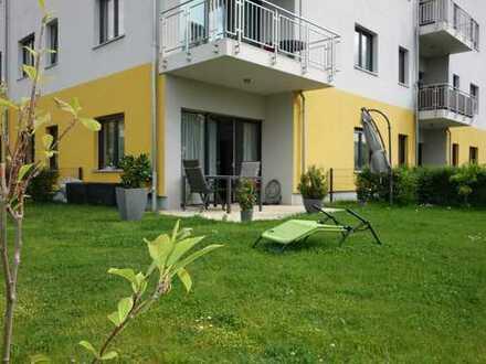 Tolle Gartenwohnung in Französisch Buchholz- 2 Zimmer mit großem eigenen Garten