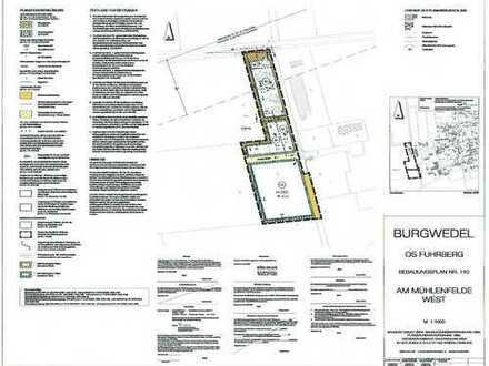 Gewerbegrundstück (teilbar) in Burgwedel/Fuhrberg -letztes verfügbares Grundstück-