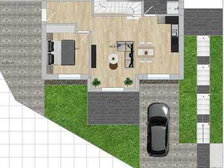Erstbezug 2-Zimmer-EG-Wohnung mit Terasse in schön gelegenem Neubaugebiet in Schwaikheim