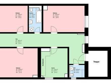 * Murnau Zentrale Lage *3 Zimmer * Wohnküche mit EBK * Bad mit Wanne*