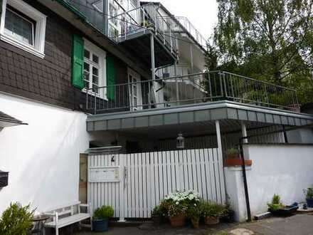Wohnung mit großer Terrasse in denkmalgeschütztem Haus in der Schwelmer Altstadt