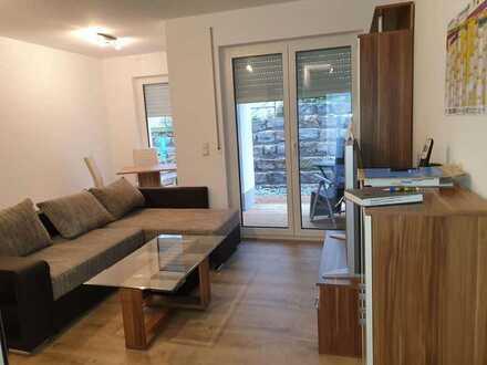 Schickes Single-Appartement 2 -Zimmer -Neubauwohnung mit Terrasse im Herzen von Obersontheim