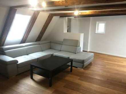 Bedroom in the Duplex-Appt in the Augsburg -Innenstadt!