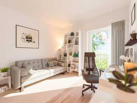 Smart geschnittenes Studio-Apartment mit Balkon