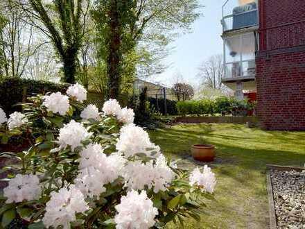 Souterrain-Wohnung mit sonniger Terrasse in guter Lage von Hamburg-Heimfeld!