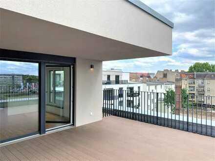 Moderne Dachterrassen-Wohnung an der Spree