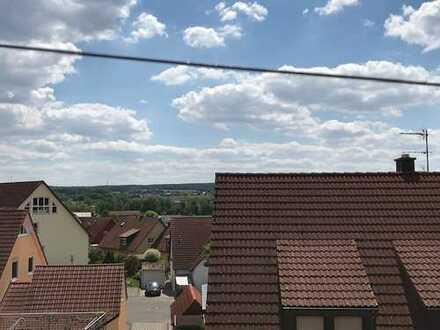 Blick über die Dächer von Ammerndorf