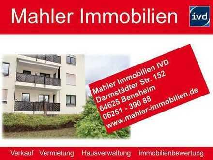 Gepflegte 4 ZKB Erdgeschosswohnung in zentraler Lage von Bensheim