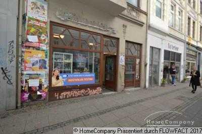 Ladenlokal direkt an der Straßenbahnhaltestelle im Steintor