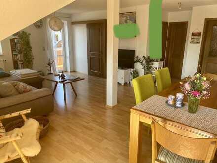 3-Raum-DG-Wohnung mit EBK, Loggia und Balkon in Bodnegg