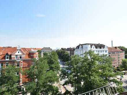 Im Kundenauftrag zu verkaufen: ausbaufähiges Dachgeschoss, ca. 160 m² zw. Hansastr. und Schrevenpark