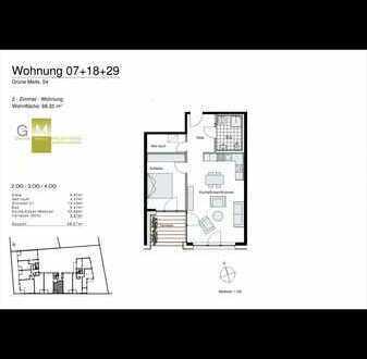 Erstbezug mit Balkon: stilvolle 2-Zimmer-DG-Wohnung in Heidelberg