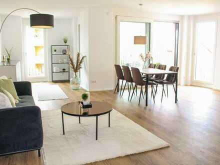 Lichtdurchflutete 2-Zi-Wohnung im EG mit Loggia (WE 14)