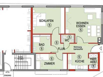 Erstbezug nach Sanierung mit Balkon: stilvolle 3-Zimmer-Wohg. in Dußlingen (Tübingen)