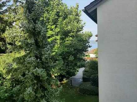 Geschmackvolle 5-Zimmer-Wohnung mit Garten und Seesicht in Litzelstetten