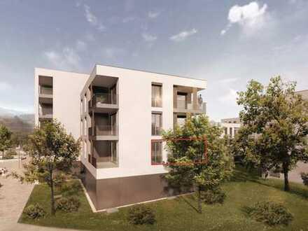 1-Zimmer-Apartment im Obergeschoss **NEUBAU**