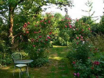 Doppelhaushälfte mit großzügiger, individueller Raumaufteilung und großem naturnah angelegtem Garten