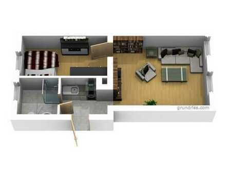 renovierte 2-Raum-Whg. mit Pantryküche