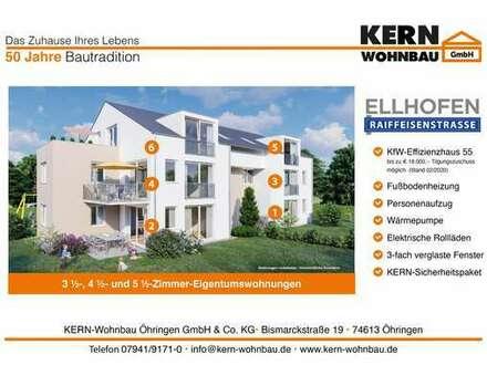 Verkaufsstart! 3,5 Zi.-Erdgeschoss-Wohnung mit Terrasse und Gartenanteil WHG_01