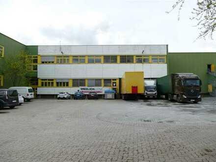 Teilflächen in Lager/Produktionshalle mit Büroeinheit zu vermieten / Teilung möglich