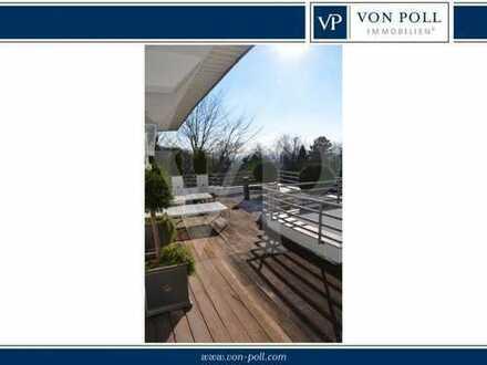 VON POLL IMMOBILIEN Penthouse in absoluter Toplage mit Panormablick in Neuenheim