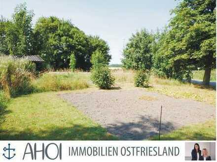 Idyllisches Grundstück in Deichnähe in Campen