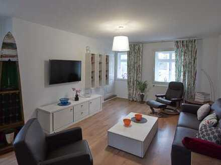 4 Zimmer Maisonettewohnung mit eigener Terrasse und Grünfläche in Düsseldorf-Angermund