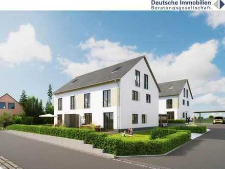 Große Doppelhaushälfte - Neubau in Weisendorf!