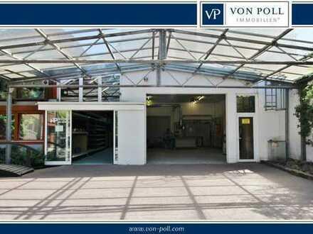 Lagerhalle + Werkstatt - mit vielseitigen Nutzungsoptionen im Gewerbegebiet