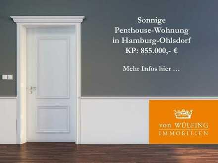 Sonnige 4-Zimmer-Penthouse-Wohnung mit Dachterrasse...