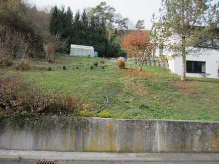 Beuron Hausen schönes Grundstück voll erschlossen 780qm Anliegerstr Sonnige Hanglage