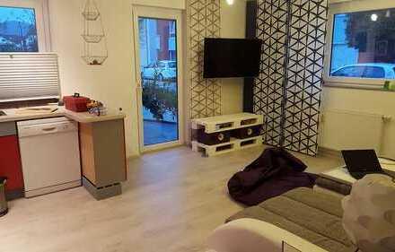 2,5 Zimmer Wohnung mit großer Holzterrasse