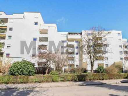 Gepflegtes Anlageobjekt im Norden von Landshut: Vermietete 3-Zi.-Wohnung mit Balkon