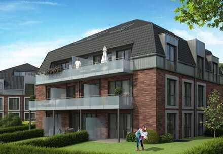 Letzter Bauabschnitt: Barrierearme Erdgeschosswohnung mit Garten und Tiefgarage!