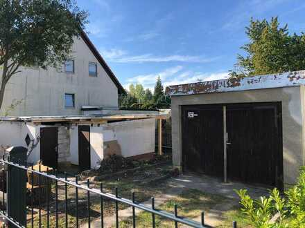 Bungalow und Garage auf 420 m² Grundstück in Leipzig Paunsdorf
