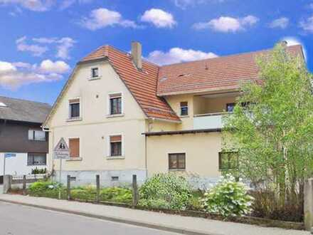 Au am Rhein: In der herrlichen Rheinlandschaft zwischen Raststätt & Karlsruhe - Wohnhaus mit Gewerbe