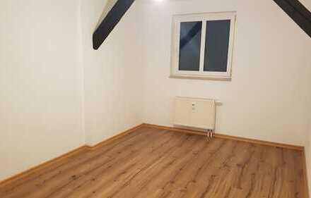 Renovierte und Top geschnittene 3 Zi DG Wohnung in saniertem Altbau und ruhiger Lage !