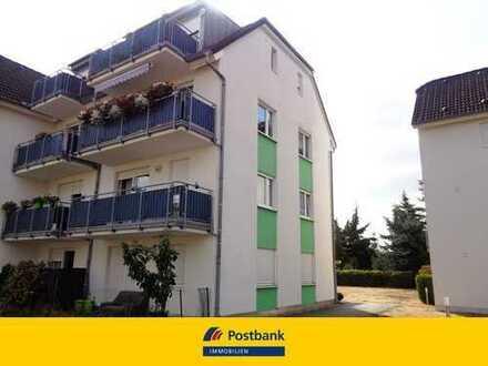Helle Zwei-Zimmer Wohnung mit Wohnküche und Balkon