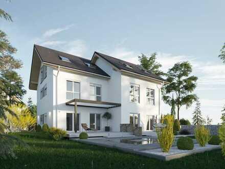 *IHR TAUMHAUS* Doppelhaushälfte als Plusenergiehaus, inkl. Keller und Grundstück