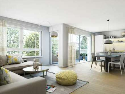 Sonnige 3-Zimmer-Erdgeschosswohnung mit 50 m² Garten