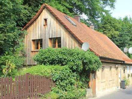 Historisches Sandsteinhaus am Weißen Main