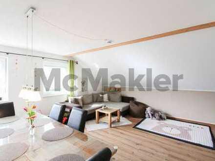 Heller Wohntraum: DG-ETW mit Balkon in idyllischer Lage von Deggendorf-Mietraching