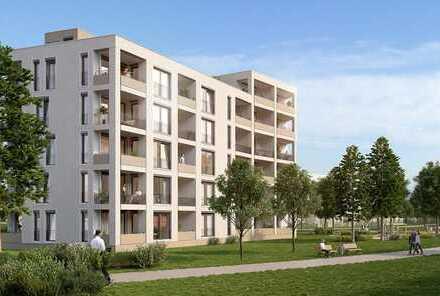 Erstbezug: attraktive 3-Zimmer-Wohnung mit Südloggia in Neuaubing, München