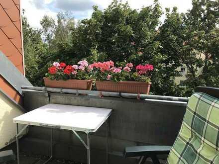 2-Zimmer-Dachgeschoss-Maisonettewohnung mit Südloggia nahe Fürstenwalder Spree