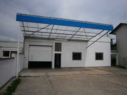 Walldorf, Produktions-/Lagerhalle mit Büro, WC & Sozialraum, ca. 750qm, Stellplätze inkl.