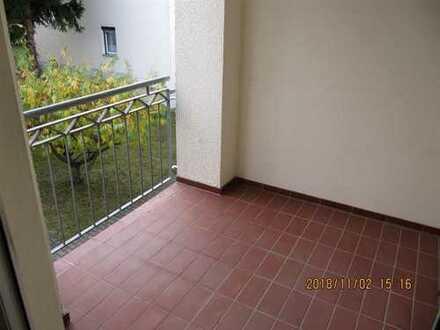 Blick ins Grüne mit Lift und Balkon