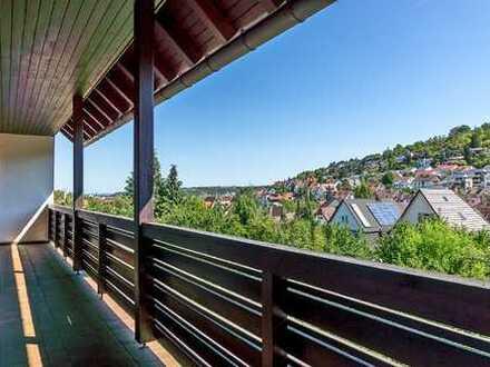 Großzügige 5-Zimmer-Wohnung in bevorzugter Wohnlage in S-Feuerbach